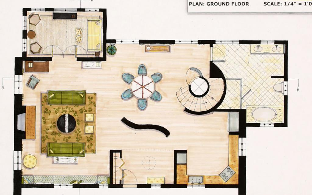 What Interior Designers Do- Floor Plans - Seabaugh Interiors