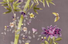 Fromental UK, wallpaper, embroidered wallpaper