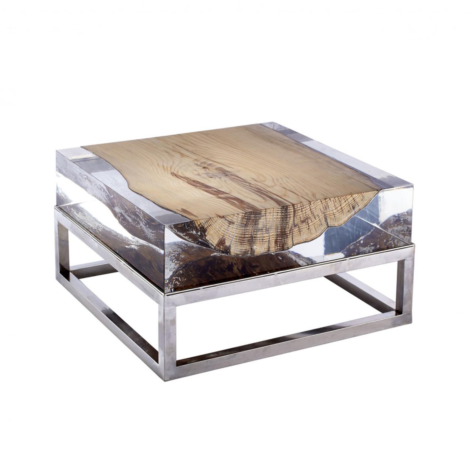 michael dawkins home, lucite coffee table, theresa seabaugh interiors, brooklyn interior designer