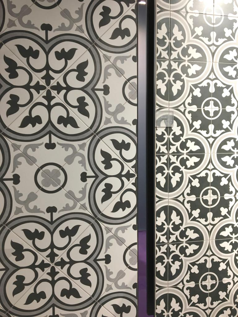 #Somertile #cementtile #seabaughinteriors #brooklyninteriordesigner #flooring #tile #blackandwhitetile #interiordesign #kitchendesign