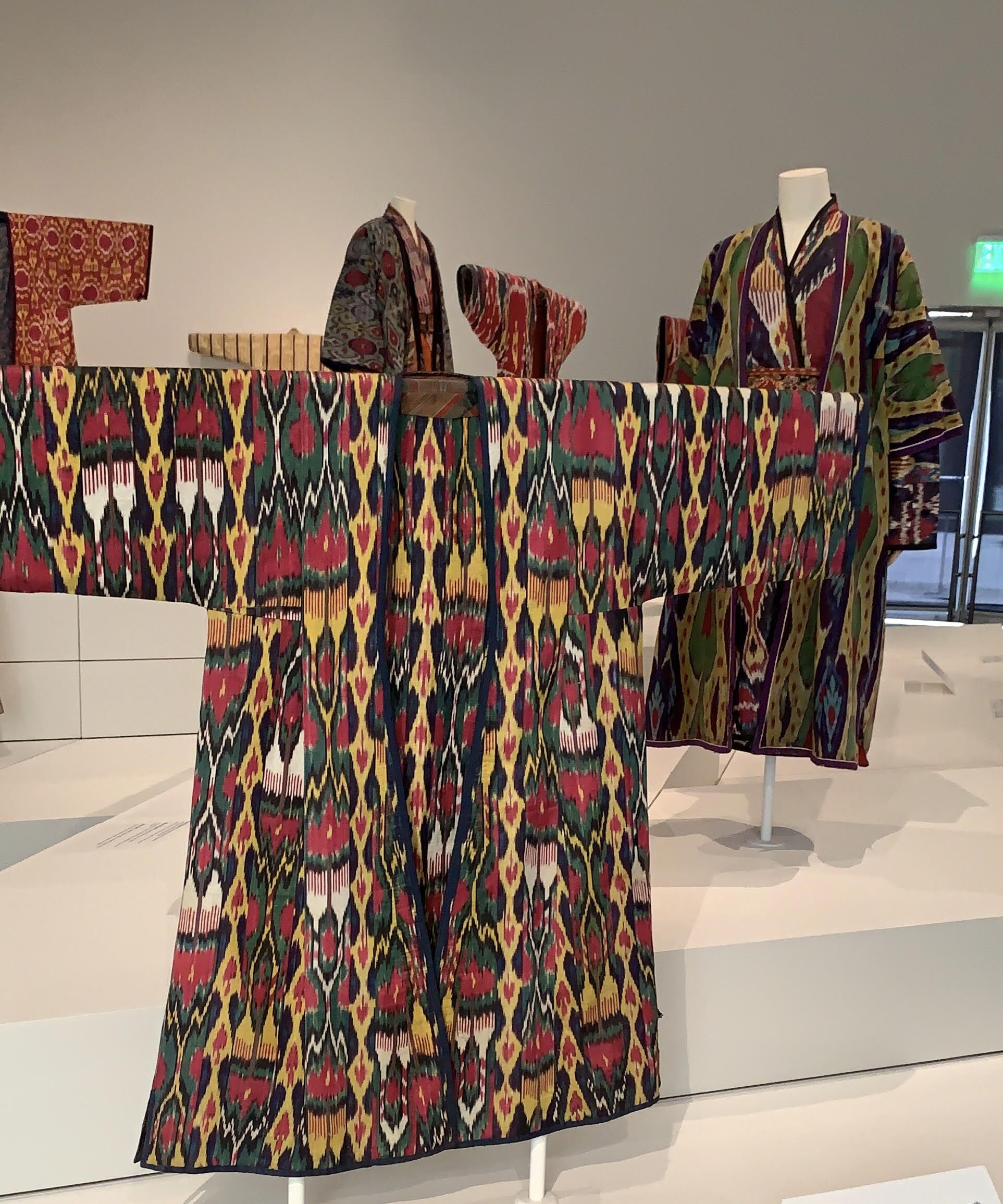 Ikat Robe from Central Asia