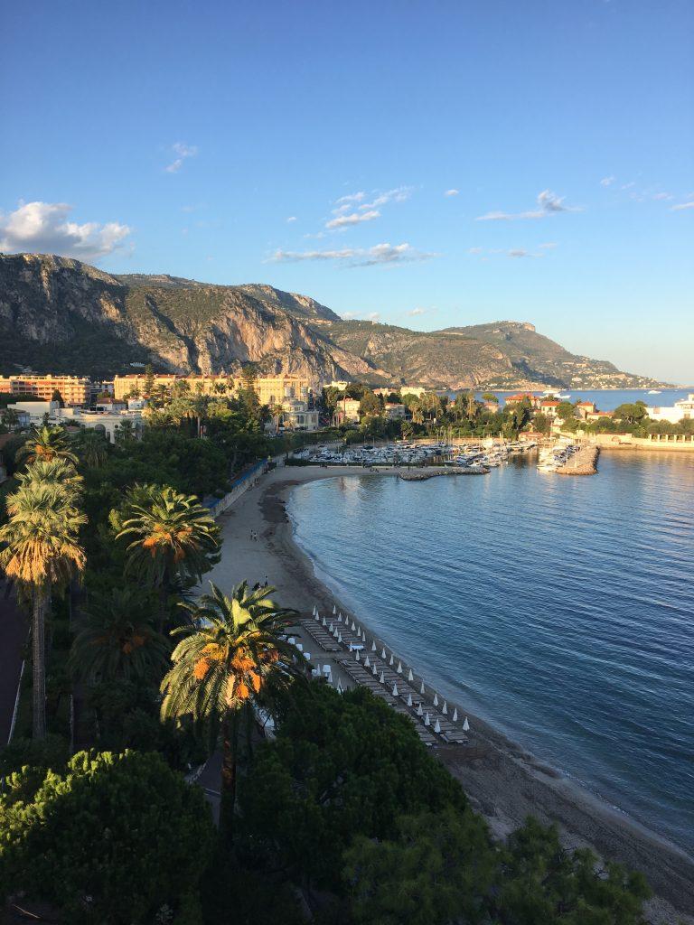 Morning sunrise in Nice