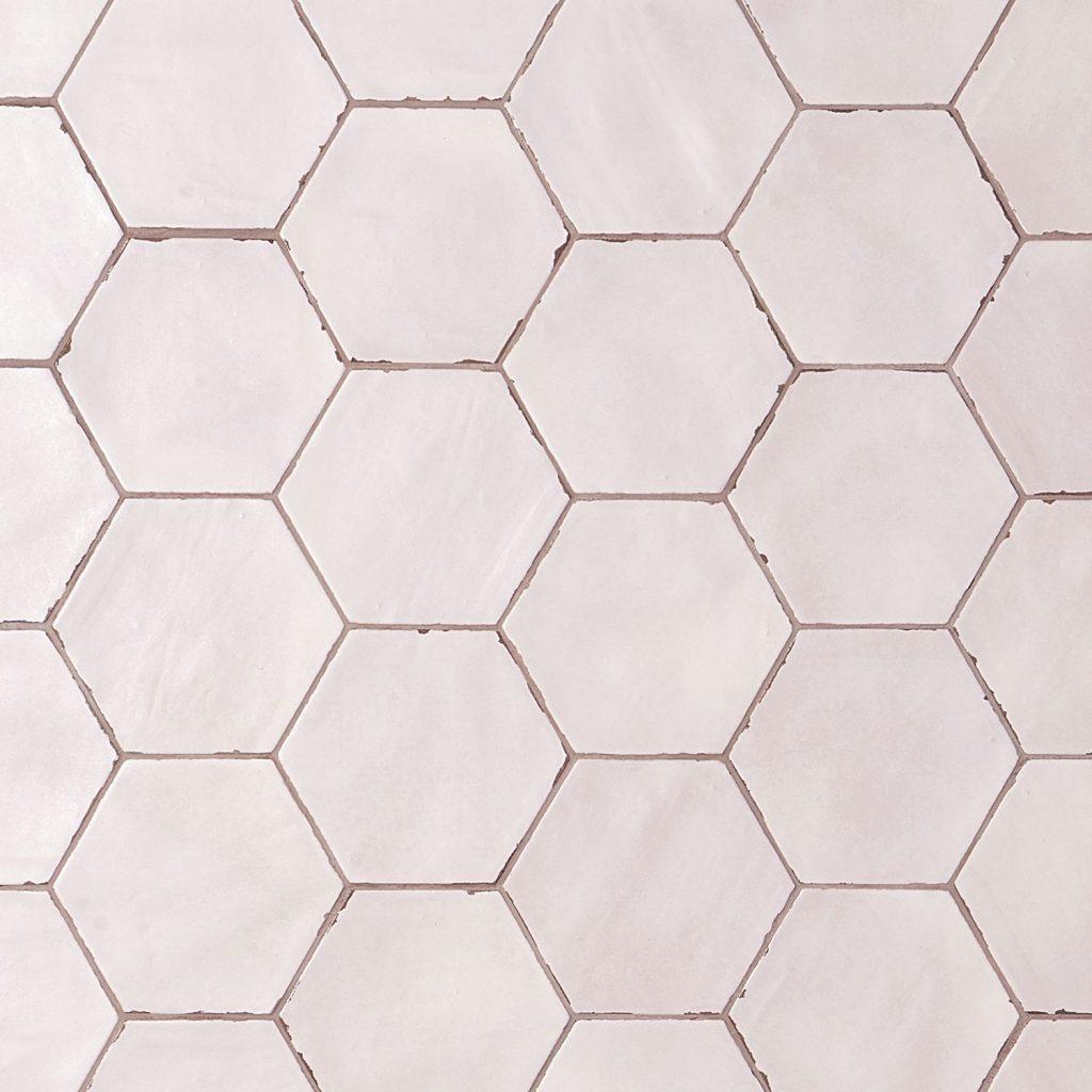 Rose Hexagon Tile